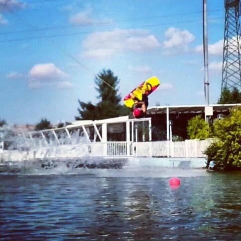 gattaman wakeboard raley cablu wakepark