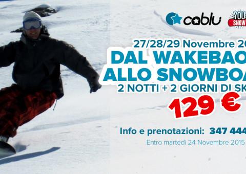 Viaggi snowboard organizzati Bologna